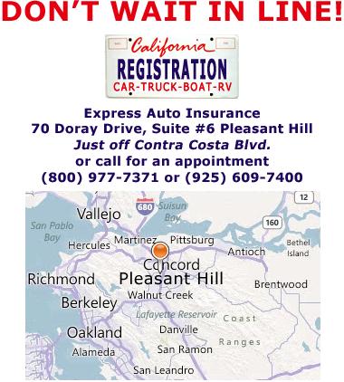 Vehicle Registration Ca >> Ca Dmv Vehicle Registration Pleasant Hill Concord Martinez